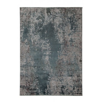 Its fabulous abstract designs are emphasized by color contrasts and different three-dimensional levels of yarn.  Dimensions 230x160 cm