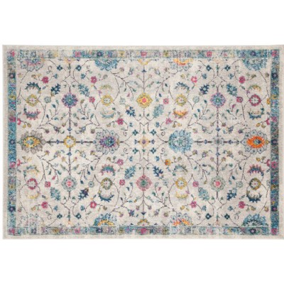 Charm, elegance, delicacy: this rug embodies all the nuances of femininity, with its warm and bright colours and floral decorations. Dimensions 300x200 cm