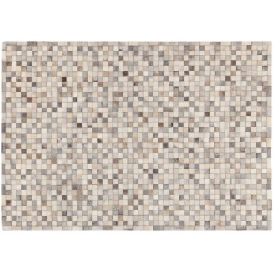 Leather Patchwork carpets are unique, bold pieces, perfect for giving personality to the furnishing environment.  Dimensions 230x160 cm