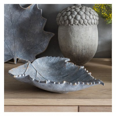 Decorative birch leaf bowl that is also ready to be wall hung Dimensions 320x85xH410mm