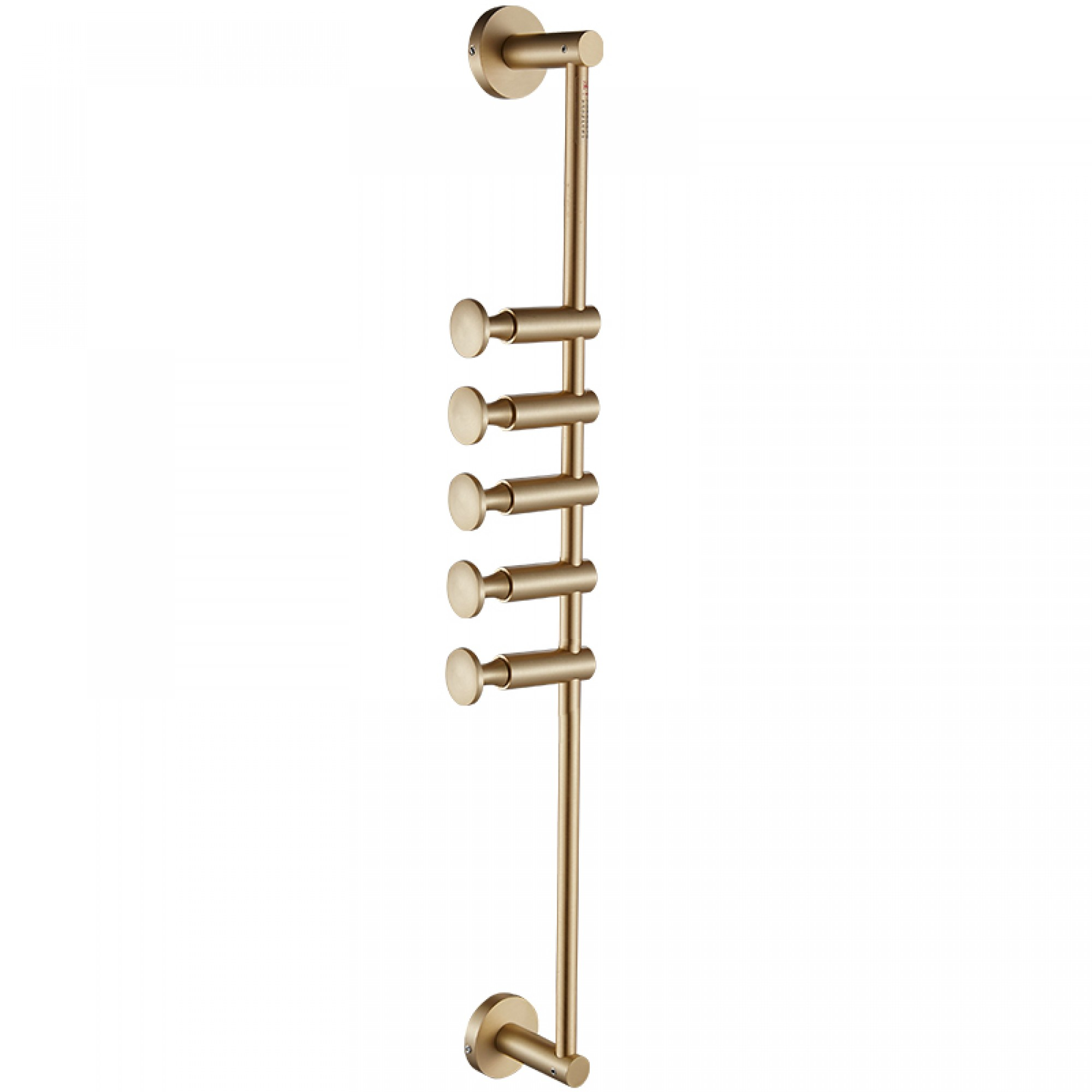 Brass clothes hanger - LUSTER