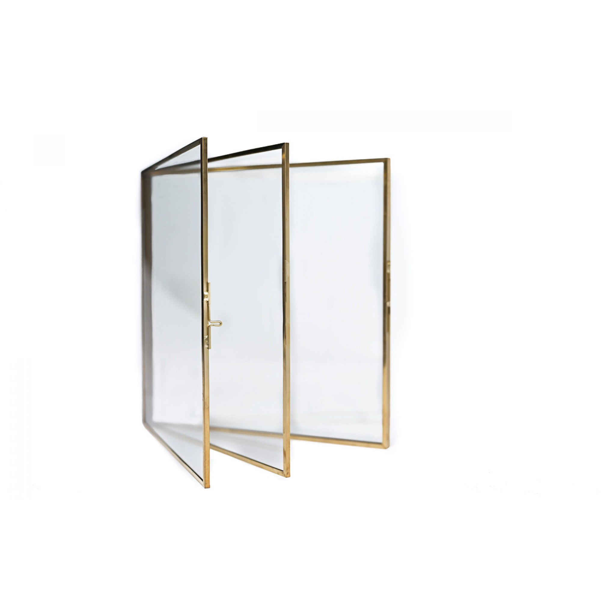 Photo frame with gold metal structure, 15.2 x 20.3 cm - BOOK