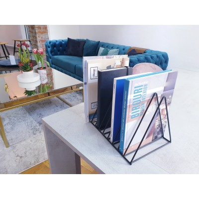 Book stand, nordic style, Black - Nest