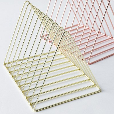 Book stand, nordic style, Rose Gold - Nest