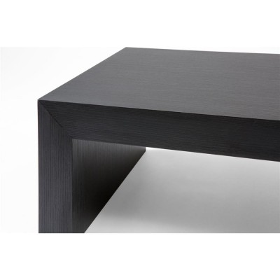 First Coffee table, Black Ash