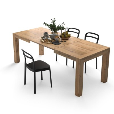 Table with 2 extensions, from 140cm to 220cm