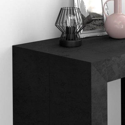 Angelica extendable console, black
