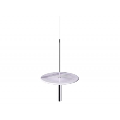 Circulum decorative table, suspended from the ceiling.