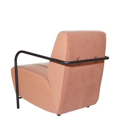 Armchair with metal structure - METIS BERGER