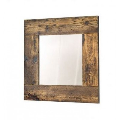 Very beautiful reconditioned wooden frame mirror.