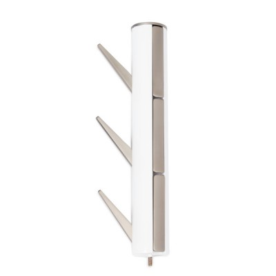 Wooden hanger and white metal support - FLAPPER