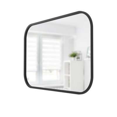 This decorative mirror makes a perfect statement piece in any room. Measuring 61 x 91 cm, Hub will not only brighten your space but adds visual depth to make it appear larger.